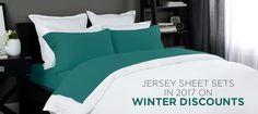 Briarwood Home Cotton Solid Jersey Sheet Set Size: Queen, Color: Cobalt Blue Best Sheet Sets, Best Sheets, Bed Sheets Online, Percale Sheets, Cotton Sheet Sets, Room Essentials, Cool Beds, Bedroom Styles, Luxury Bedding