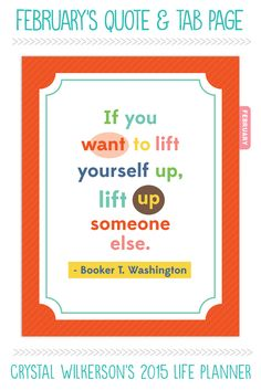If you need a pick me up, lift someone else. Truth!!!