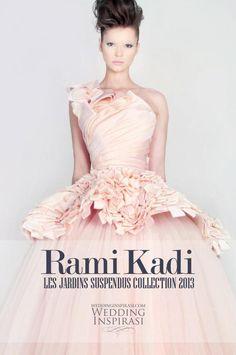 Featuring - Rami Kadi 2013 Les Jardins Suspendus Collection featured at http://weddinginspirasi.com/2013/05/15/rami-kadi-2013-les-jardins-suspendus-collection/