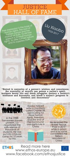Another week, another hero! This week we would like to introduce you to Liu Xiaobo, by some considered the Nelson Mandela of China.