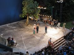 To Kill a Mockingbird. Regent's Park, Open Air Theatre. Scenic design by Jon Bausor.
