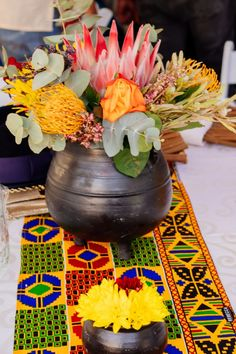 A Stunning Lobola/Mahadi Celebration - South African Wedding Blog South African Weddings, Wedding Preparation, Tropical Flowers, Wedding Blog, Celebration, Table Decorations, Home Decor, Homemade Home Decor, Decoration Home