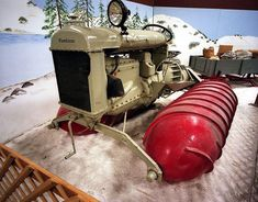 1924~26 Fordson Tractor Snow Machine made by ArmsteadSnow Motors of Wisconsin....possible because of Ford Tractor (1915-1950)