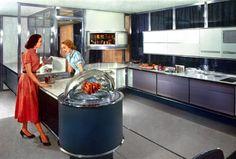 Plan59 :: Retro 1940s 1950s Decor & Furniture :: Frigidaire Kitchen of the Future, 1957