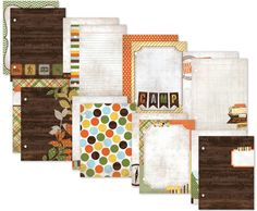 Simple Stories - SNAP Collection - 6 x 8 Journal Inserts - Take a Hike at Scrapbook.com $4.99