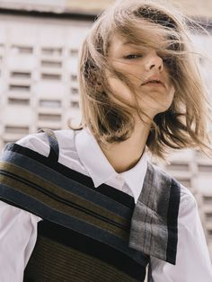 CONSTRUCTED YOUTH for sickymag.com  Photography Greg Lin Jiajie Fashion Bernice So Model Imogen at Select Models London Hair & Make-Up Jinny Kim Clothes Alyx, Ports 1961, Marni, MM6, Isabel Marant, Peter Pilotto, Maison Margiela, Mo&Co, Faustine Steinmetz, Le Ciel Bleu, Gucci, Thomas Tait and Sportmax