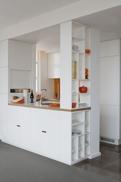 There is no question that designing a new kitchen layout for a large kitchen is much easier than for a small kitchen. A large kitchen provides a designer with adequate space to incorporate many convenient kitchen accessories such as wall ovens, raised. Kitchen Paint, New Kitchen, Compact Kitchen, Kitchen Island, Kitchen Ideas, Kitchen Walls, Kitchen Images, Kitchen Cupboards, Kitchen Interior