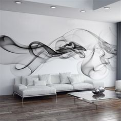 Cheap living room wall paper, Buy Quality designer wall paper directly from China wall paper Suppliers: Custom Photo Wallpaper Modern Wall Mural Wallpaper Black White Smoke Fog Art Design Bedroom Office Living Room Wall Paper View Wallpaper, Modern Wallpaper, Photo Wallpaper, Bedroom Wallpaper, Stone Wallpaper, Cheap Wallpaper, Forest Wallpaper, Widescreen Wallpaper, Wallpaper Decor