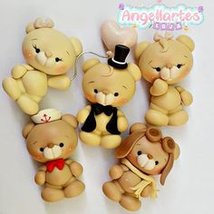 1 million+ Stunning Free Images to Use Anywhere Polymer Clay Fairy, Polymer Clay Kawaii, Polymer Clay Ornaments, Polymer Clay Animals, Polymer Clay Crafts, Polymer Clay Creations, Handmade Polymer Clay, Buttercream Birthday Cake, Clay Bear
