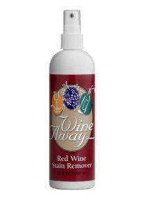 Wine away – Produit anti-tache – Bouteille en plastique – 350 ml