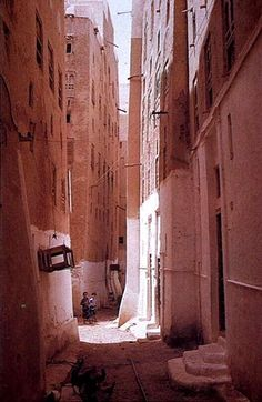Shibam, a town in Hadramawt, Yemen, is considered to have the world's oldest skyscrapers. All of the town's houses are made out of mud bricks. While Shibam has existed for around 2,000 years, most of the city's houses come mainly from the 16th century.