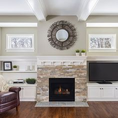 Built Ins Around Fireplace Design Ideas, Pictures, Remodel and Decor