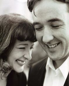 John Cusack and sister, Joan. Such a talented family!