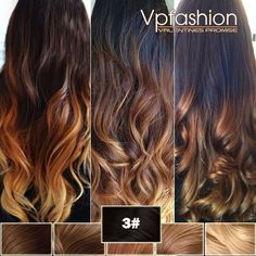 Top 2 Celebrity Sombré Hair Colors 2014 Spring: Dark Brown  brown natural ombre waves Endless ombre color combos for your basic natural color