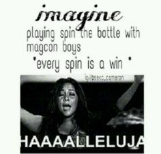 Magcon spin the bottle | We Heart It | imagine, spin the bottle ...Alyssa Gonzalez
