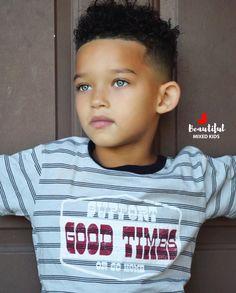 Carter - 5 African American, Irish, Greek & German ♥️ Beautiful Black Babies, Beautiful Children, Cute Mixed Babies, Cute Babies, Fashion Kids, Boy Hairstyles, Pretty Baby, Black Kids, Baby Fever