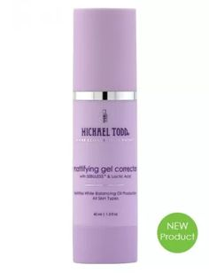 NEW! MICHAEL TODD (must try!) Mattifying Gel Corrector 2 in 1 Treatment and Primer in one! Note: 30% off site wide currently for vday! Instantly softens the skin's complexion to a velvet-like finish while delivering balancing actives for all skin types. This 2-in1 treatment and primer matifies the skin to an air-brush finish while infusing skin with balancing & rejuvenating actives. This is your treatment serum and makeup primer all in one corrective gel. $37-use code KISSABLE
