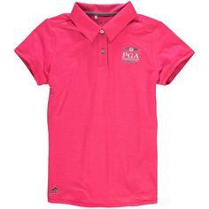 adidas Girls 2016 PGA Championship Essential Polo - Pink - $48.99