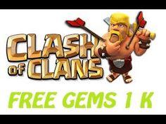 How to Get Free 1.000 Gems Clash of Clans? // hack cara mendapat Gems Gratis - YouTube