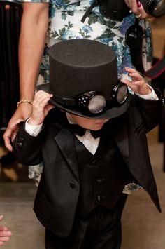 A steampunk wedding