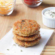Sun dried Tomato and Mozzarella Quinoa Burgers - Jessica In The Kitchen
