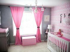 Toddler girl room gray and pink nursery project nursery diy toddler girl room decor Girl Nursery, Girls Bedroom, Nursery Room, Room Baby, Baby Rooms, Master Bedroom, Peach Bedroom, Newborn Room, Bedroom 2018