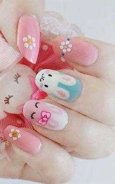 easter nails design - Pesquisa Google