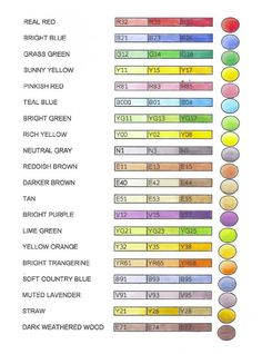 Michelle's MBellishments: Basic Copic Colors -Starter Suggestions...also includes a blank to print out and color yourself.