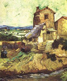 VAN GOGH - The Old Mill, September 1888, Arles