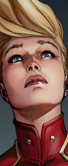 Captain Marvel by David Marquez