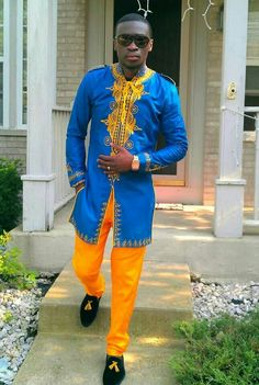I love me a classy sexy African!!! Love the traditional attire. So so sexy.