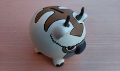 Oh my gosh, this Appa piggy bank! They also have Pokemon and My Little Pony painted banks. Adorable.