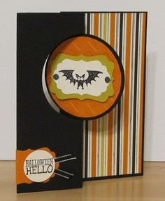 Circle Card Thinlits Halloween Card