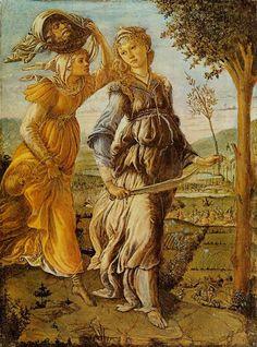Sandro Botticelli, Return Judith Bethulia,  Date: 1469/70, 31 X 24 cm, Florence, Galleria degli Uffizi, http://historylink101.com/art/Sandro_Botticelli/pages/01_Return_Judith_Bethulia_jpg.htm