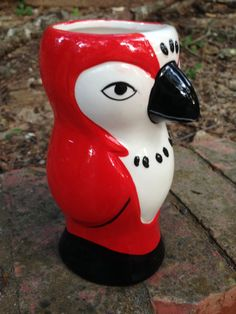 What's Black, White, and Red All Over? by Valerie Weeks on Etsy