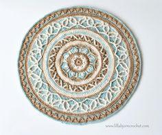 LillaBjörn's Crochet World: Joana's Mandala: new release in overlay crochet