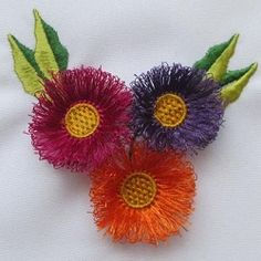 FREE! Delicate Tassel Flower - 4x4 | FREE | Machine Embroidery Designs…