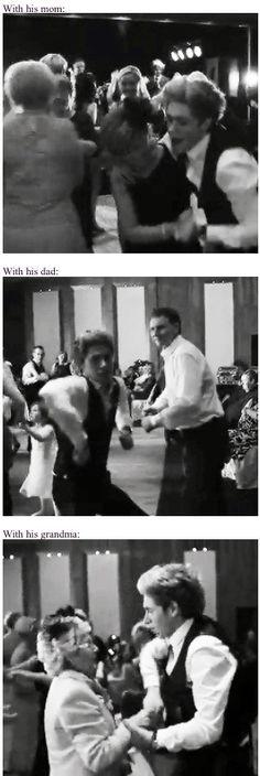 Niall dancing at Greg's wedding