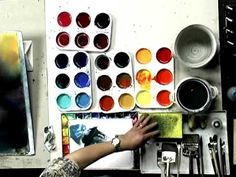 The Deductive Method of Watercolor Painting - Cheng-Khee Chee series video demonstrating Koi fish...amazing