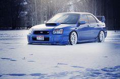 my next car... i love you!!! Subaru Impreza WRX STi.