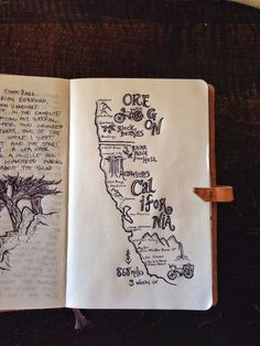 Travel Journals full of sketches and memories.