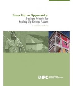 From Gap to Opportunity: Business Models for Scaling Up Energy Access