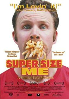 BEST DOCUMENTARY FEATURE NOMINEE: Super Size Me