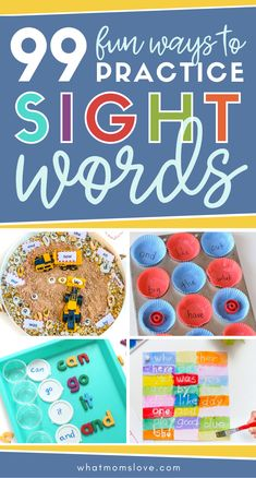 100+ Fun Ways to Teach Sight Words with Hands-On Games & Activities