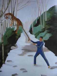 Holly Coulis - Fight with the tiger