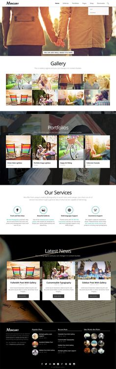 Mercury #Responsive #Portfolio #Photography #Wordpress #Theme