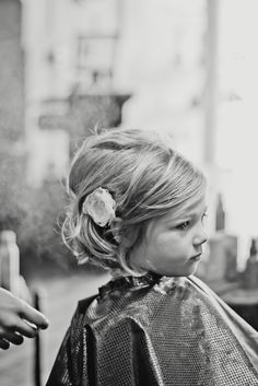 Oh so cute young girl hair do!