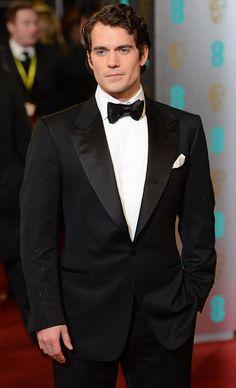 BAFTAS 2013 Henry Cavill - he's yummy