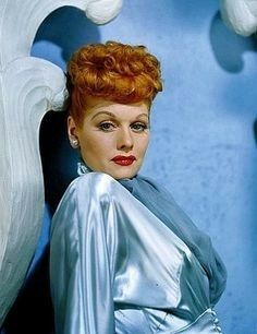 The beautiful and great actress, Lucille Ball