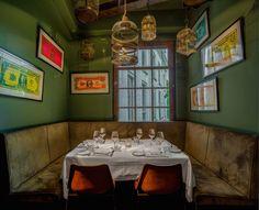 Restaurant Lion Noir, Amsterdam, by Little Wanderbook